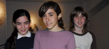 Tres alumnos fueron premiados en una competición matemática
