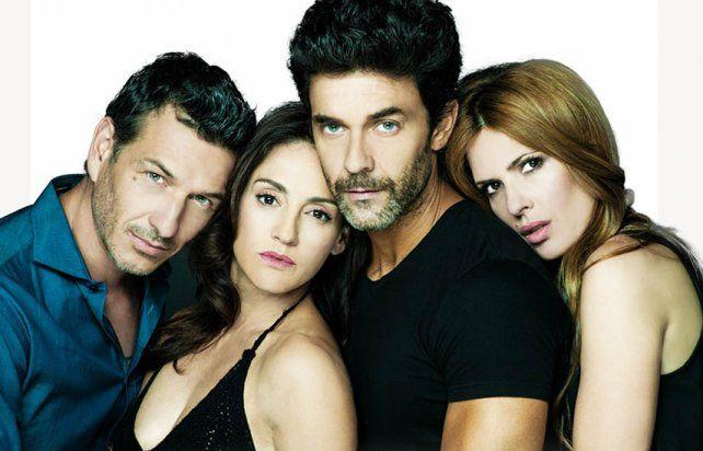 El elenco original argentino estuvo integrado por Federico Amador, Eleonora Wexler, Mariano Martínez e Isabel Macedo.
