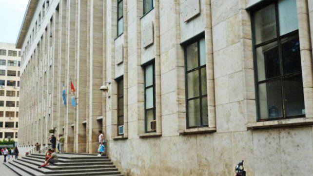 El edificio de los Tribunales provinciales de Rosario.