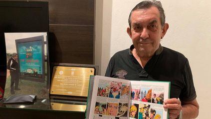 Robin Wood. El escritor paraguayo marcó un hito en las historietas latinoamericanas.