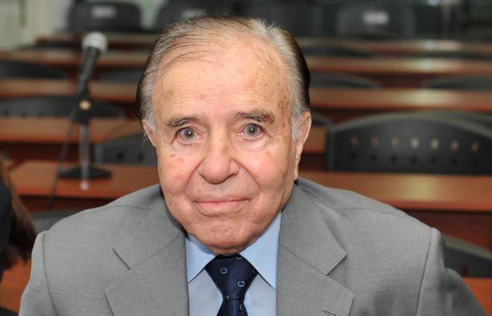 Menem pidió que se lo releve del secreto de Estado en la causa Amia