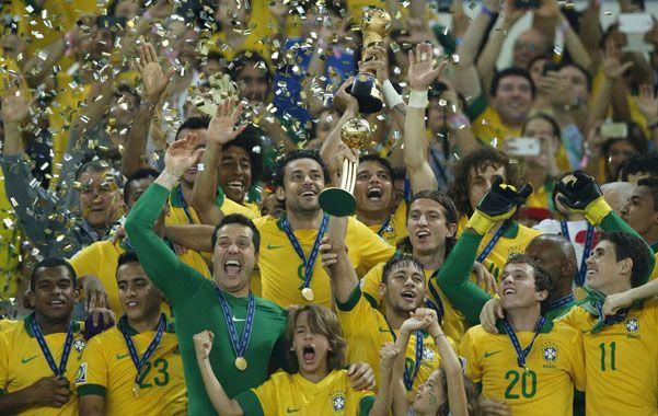 La fiesta. Con Neymar a la cabeza
