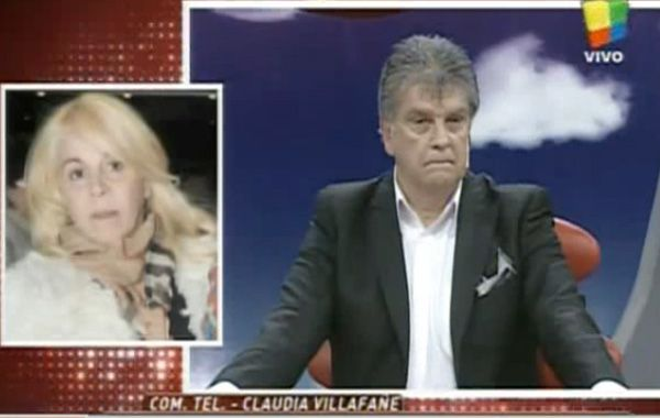 Claudia le anticipó que tenía a sus abogados escuchando todas las palabras del periodista.