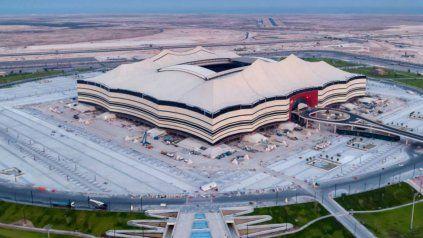Estadio Al Bayt, donde se llevará a cabo la ceremonia de inauguración del Mundial Qatar 2022.