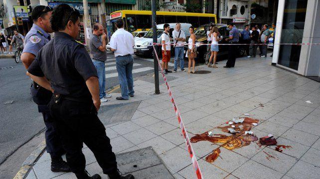 El crimen de Maximiliano Quemadito Rodríguez fue el 5 de febrero de 2013 en Corrientes y Pellegrini.