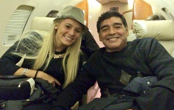 En la cinta de escasa duración puede apreciarse que Maradona
