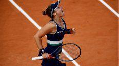 Nadia Podoroska tuvo en París el mejor torneo de su carrera y ya está entre las mejores 50 tenistas del mundo.