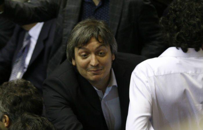 El diputado nacional Máximo Kirchner
