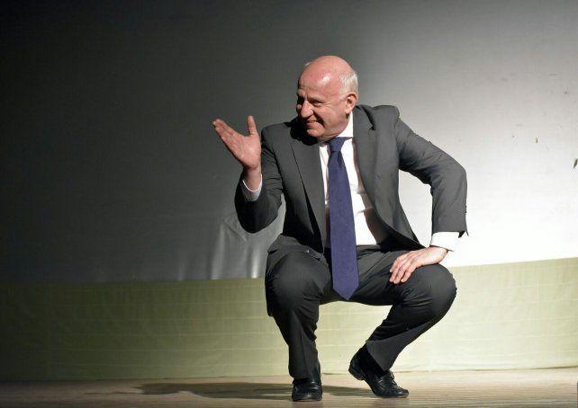 Miguel Angel Tessandori, en La Comedia