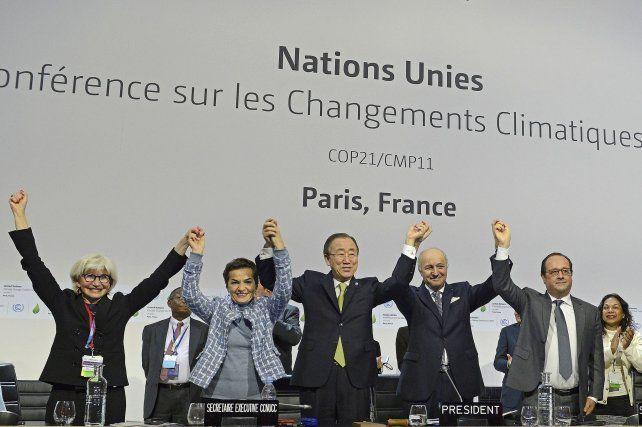 El Acuerdo de París, alcanzado en la capital francesa en 2015, puso metas y fechas a la