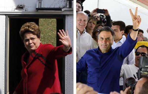 Dilma y Aecio volverán a verse las caras en el ballottage.