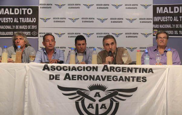 Protesta. Los gremios de Confederación Argentina de Trabajadores del Transporte (Catt) vuelven a reunirse.