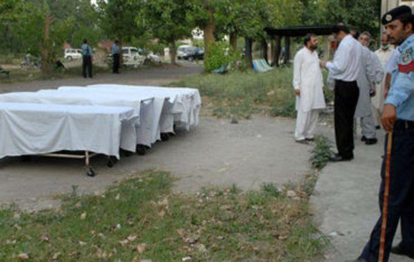 Los cuerpos de las víctimas fueron enviados a Islamabad.
