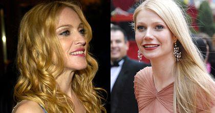 Gwyneth Paltrow ayuda a Madonna en su conflictiva separación