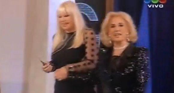 Mirtha y Susana se preguntan porqué son tan agraviadas