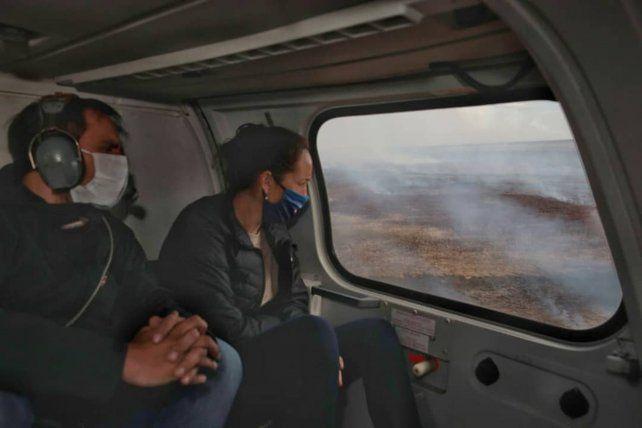Cabandié: El aumento en las quemas de pastizales es una provocación, haremos una denuncia penal
