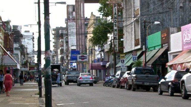 En el centro. El informe del CCI da cuenta de que un alto porcentaje de los locales ha sido desalquilado.