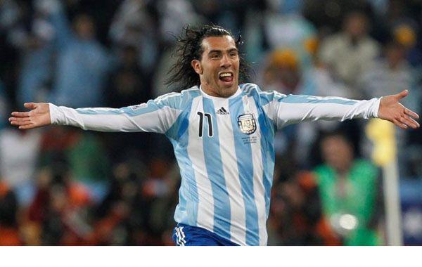 El Apache Tevez no asoma en las preferencias del entrenador Alejandro Sabella.