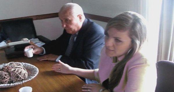 Cavallero presentó en el Palacio Vasallo dos proyectos para enfrentar el delito