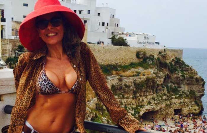 Iliana sorprendió a los italianos con su belleza.