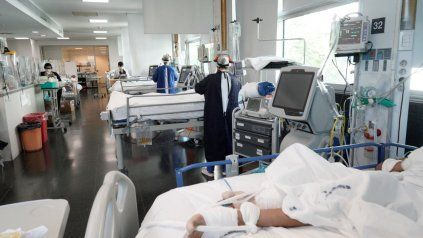 Argentina reportó 281 nuevos fallecimientos y 8.850 contagios de coronavirus