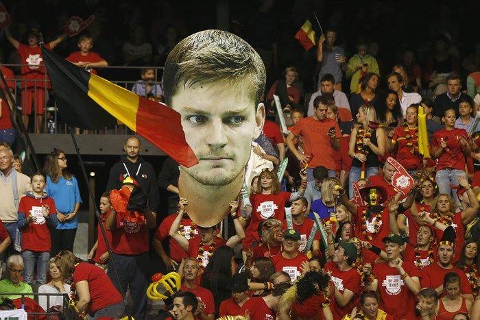 En Bruselas. El rostro de David Goffin