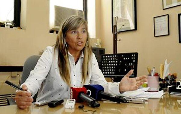 Fiscal. Nora Marull llevará adelante la acusación contra los cuatro hombres que están acusados del triple crimen.