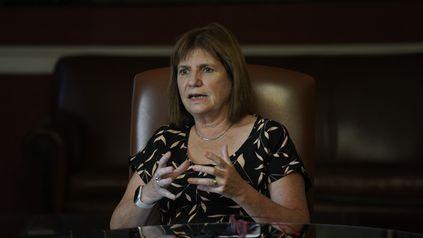 La ex ministra de Seguridad de la Nación.