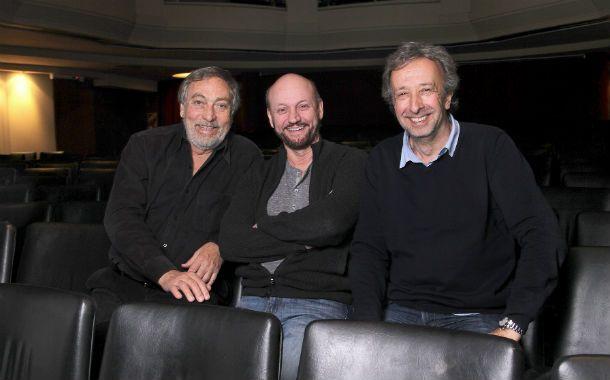 """Tres gigantes. Luis """"Beto"""" Brandoni"""