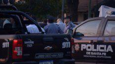 El tiroteo fue en Presidente Perón y Santa Fe, en Funes.