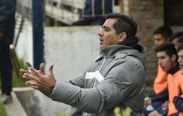 Ahora DT. Marcos Gutiérrez llegó a Venado Tuerto tras dirigir a San Jorge de Tucumán.