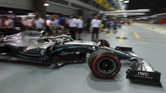 Dijo presente. El campeón Hamilton dominó luego de los dos triunfos de Leclerc.