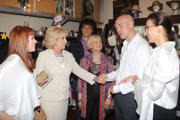 La primera aparición pública de Mirtha Legrand tras la comentada cena con Macri