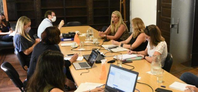 La reunión donde los concejales dieron despacho favorable al proyecto.