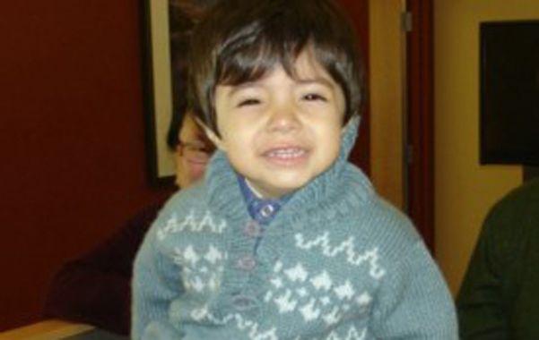 Agustín Cáceres. El niño ya produce sus anticuerpos y tiene una vida normal.