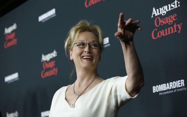 """Cmaleónica. Streep ganó tres Oscar por roles de los más disímiles. """"Sólo sirven para acumular polvo"""""""