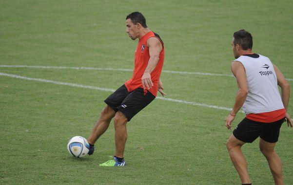 El goleador.  Maxi (anotó 4 tantos)  se recuperó de la molestia y  será de la partida en Sarandí.