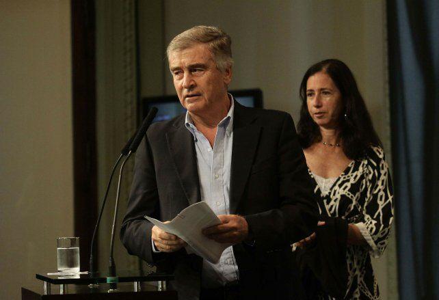 Funcionario. Aguad reiteró que no hay perdón de deuda al grupo Macri. dueño del Correo Argentino