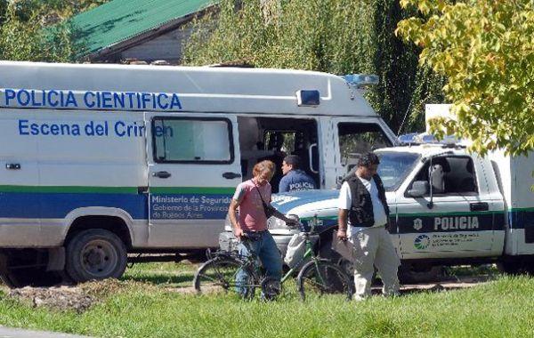 Los nenes desaparecieron en la tarde de ayer cuando jugaban frente a la casa de uno de ellos.