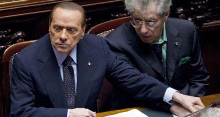 Berlusconi prometió renunciar si se aprueba el programa de ajustes