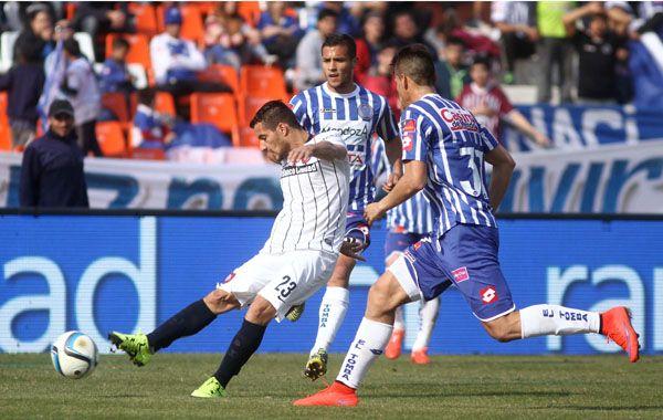 San Lorenzo perdió una buena oportunidad en su visita al Tomba. (Foto: NA)