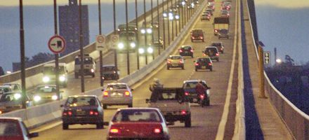 El municipio de Victoria reclamó una doble vía para el puente con Rosario