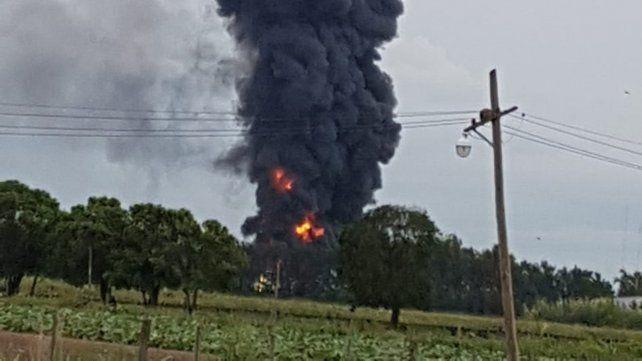Un muerto por la explosión de un depósito de combustible en Recreo