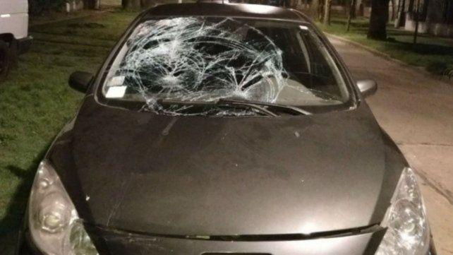 Auto. Los daños del Peugeot 307 muestran la dimensión del choque.
