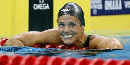 Nadadora de EEUU competirá en los Juegos Olímpicos con 41 años