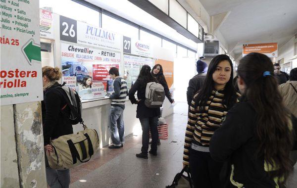 La Terminal de Omnibus Mariano Moreno