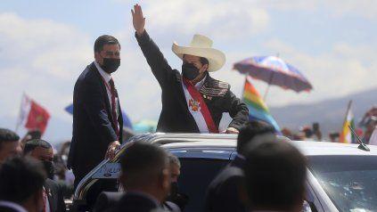 El presidente Pedro Castillo volvió a jurar su cargo, esta vez en Ayacucho.
