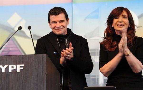 Sintonía. Cristina y el CEO de YPF