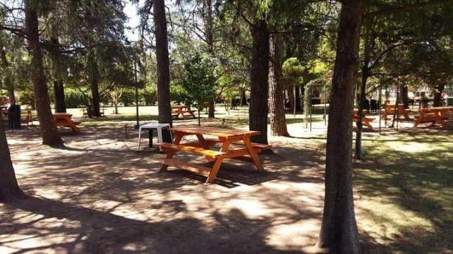 El camping Santa Rosa.  Las instalaciones de Sportivo es uno de los lugares para disfrutar en familia.