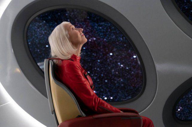 El personaje de Helen Mirren se lanza a un viaje espacial.